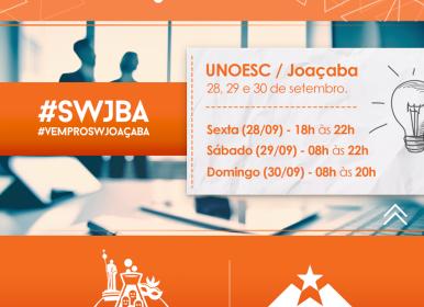 Startup Wekeend Joaçaba começa nesta sexta-feira (28)