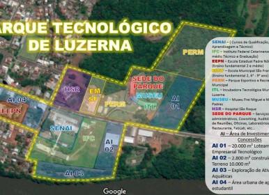 Prefeitura de Luzerna inicia implantação de Parque Tecnológico