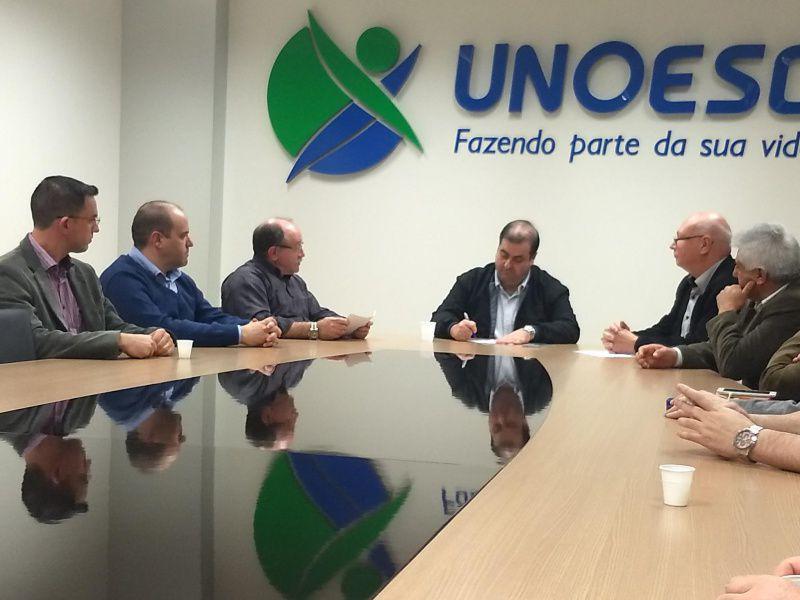 Secretário de Estado Carlos Chiodini garante continuidade das obras do Centro de Inovação em Joaçaba