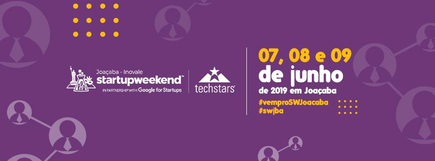 Lançamento do Startup Weekend Joaçaba 2019 será na próxima segunda-feira (08)