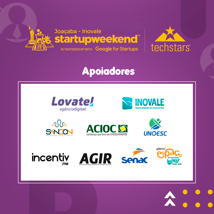 Startup Weekend Joaçaba acontecerá em junho