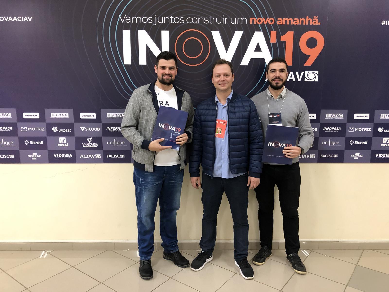 Inovale e ACIOC participam do Inova'19 em Videira