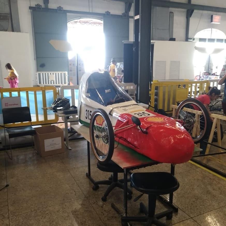 Veículo desenvolvido no IFC Luzerna compete no Shell Eco Marathon Brasil 2019