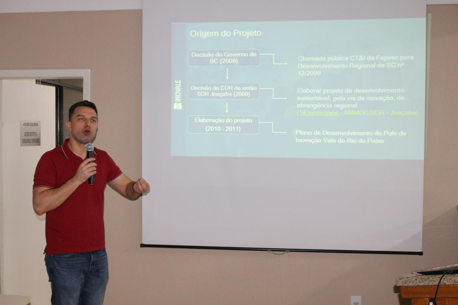 Ecossistema do Inovale é apresentado para comunidade hervalense