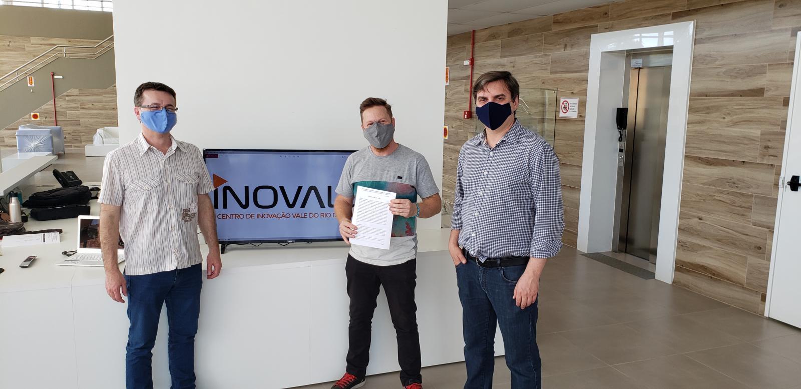 Centro de Inovação  - Empresas que já estão aqui!