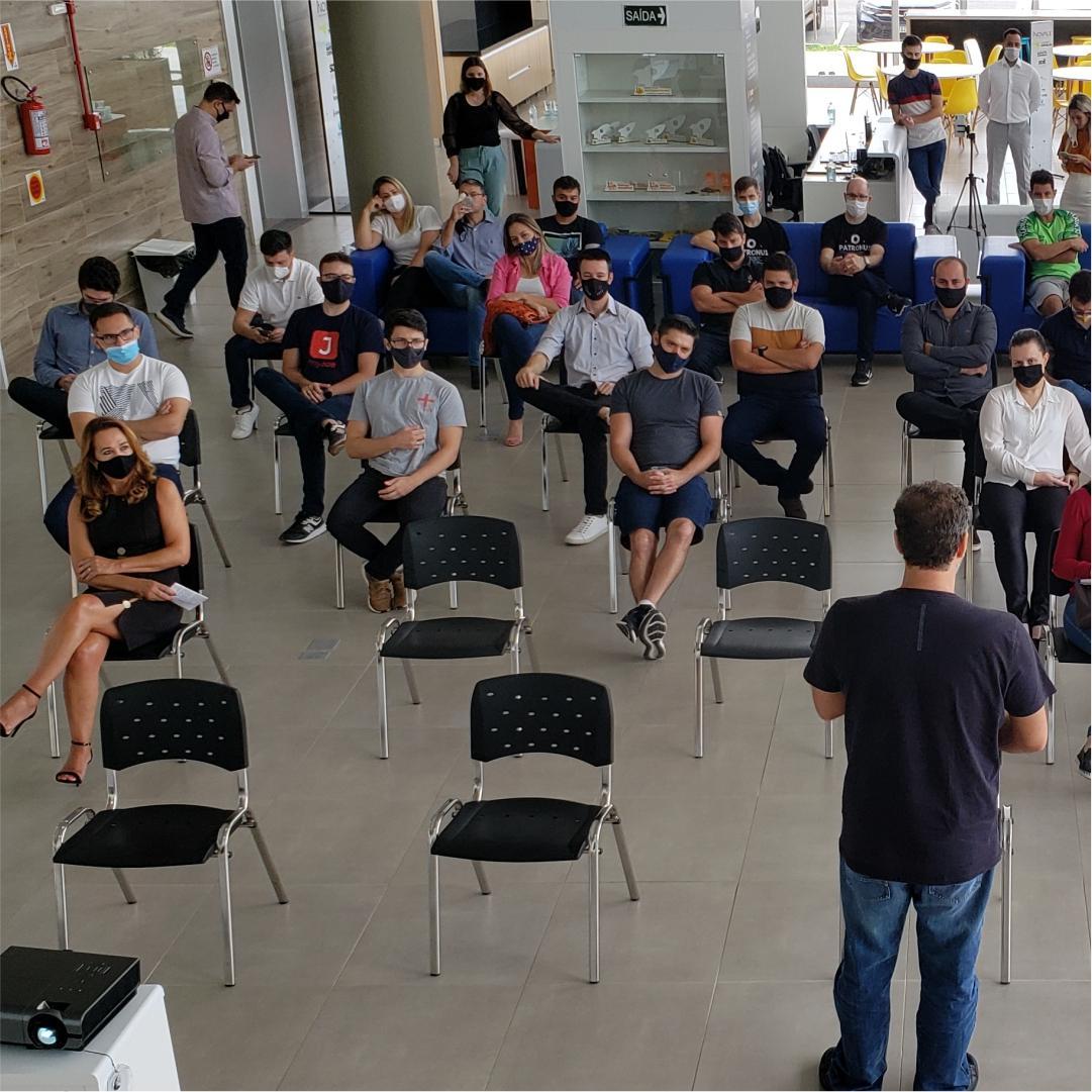 Palestra Startup SC ações para 2021